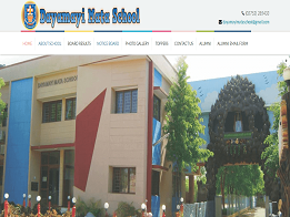 Dayamayi Mata School design and developed by KK Web Developer