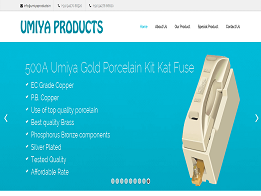 Umiya Products design and developed by KK Web Developer